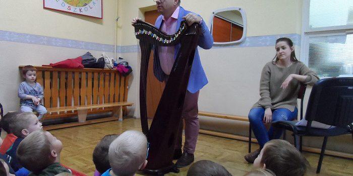 Filharmonia Przedszkolaka, tym razem z udziałem harfy