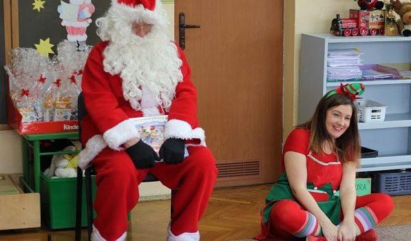 Dziękujemy za zorganizowanie spotkania z Mikołajem!